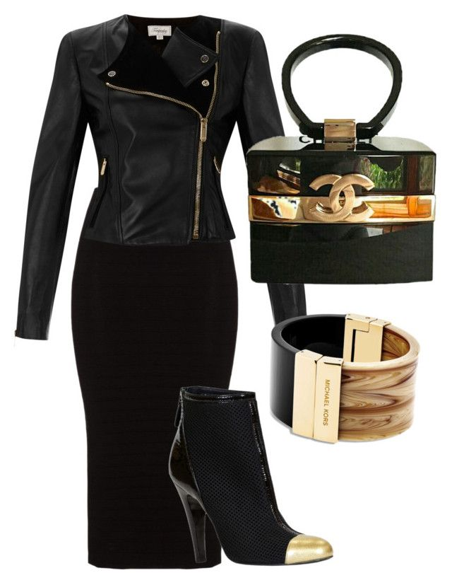 """""""Untitled #17"""" by lchrumka on Polyvore featuring Mat, Chanel, Temperley London, Michael Kors, women's clothing, women, female, woman, misses and juniors"""