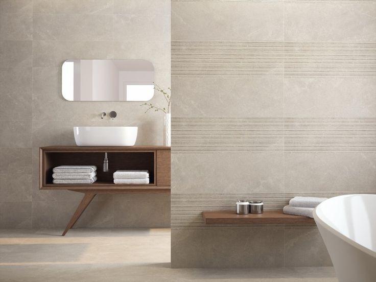 17 beste idee n over grijze badkamertegels op pinterest grijze badkamers donkergrijze - Bruine en beige badkamer ...