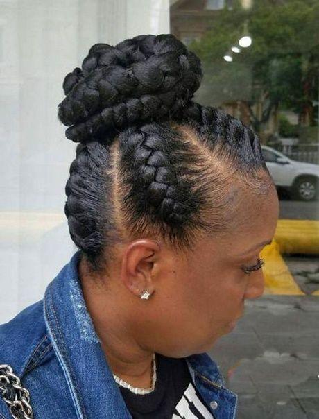 2018 black braid hairstyles