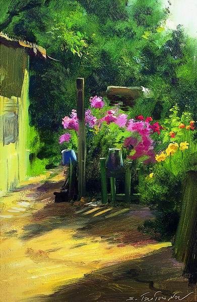 Pintura de Serguei Toutounov
