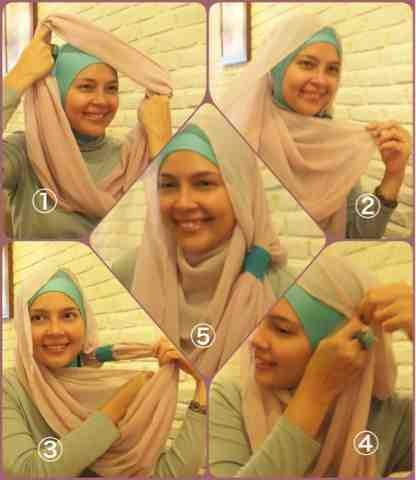 HUMAIRA: Ring Cerutti Styles easy to wear hijab tutorial