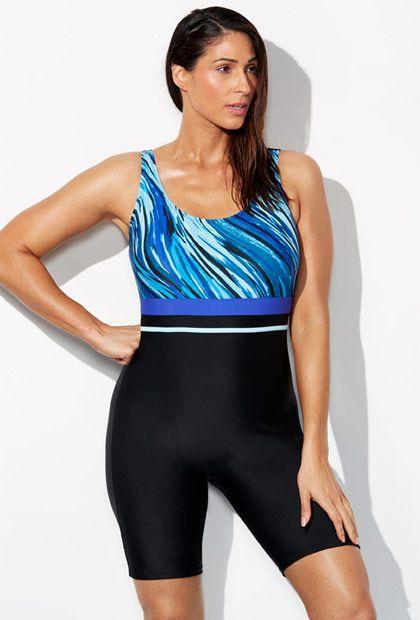 18e51599efff9 Lycra Xtra Life Whirlpool Aquatard. Lycra Xtra Life Whirlpool Aquatard Chlorine  Resistant Swimwear, Size 14, Plus ...