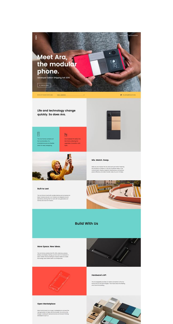 Project Ara – Landscape