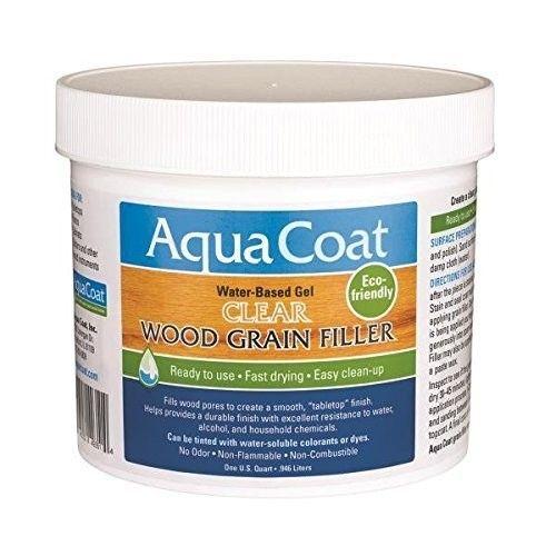 Fill Oak Grain! Aqua Coat Wood Grain Filler