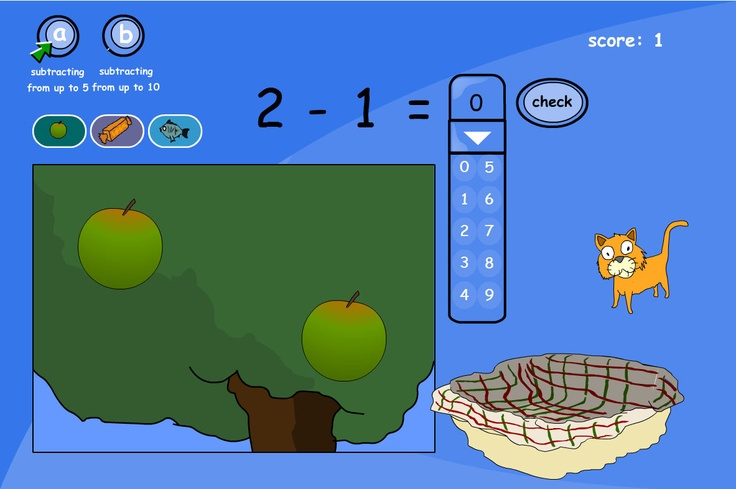 Simple Subtraction Stories: Simple stories for subtracting numbers from up to 5 and up to 10.