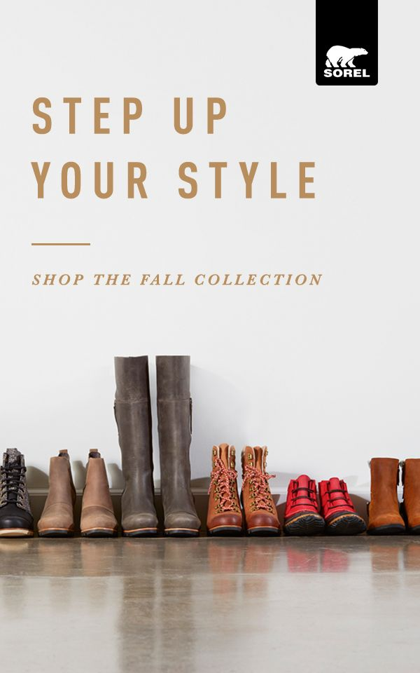 Introducing fall's finest from SOREL. Step into fall with our fall 2016 up-for-anything boots, bags and accessories. Shop the newest arrivals today.