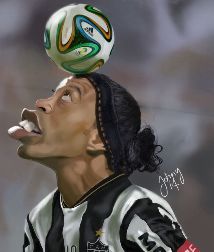 Ronaldinho ipad Procreate app