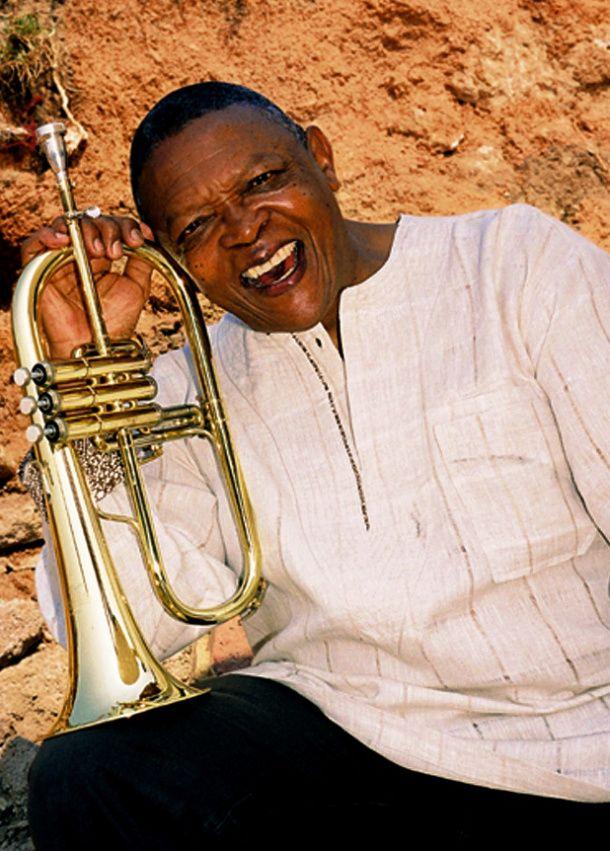 Hugh Masekela, 72, South African, Musician. He plays the flugelhorn, the trumpet and the cornet.