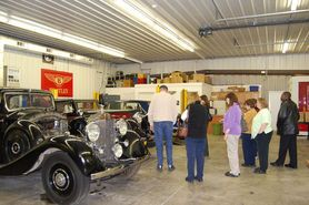 The Rolls Royce Museum in Mechanicsburg
