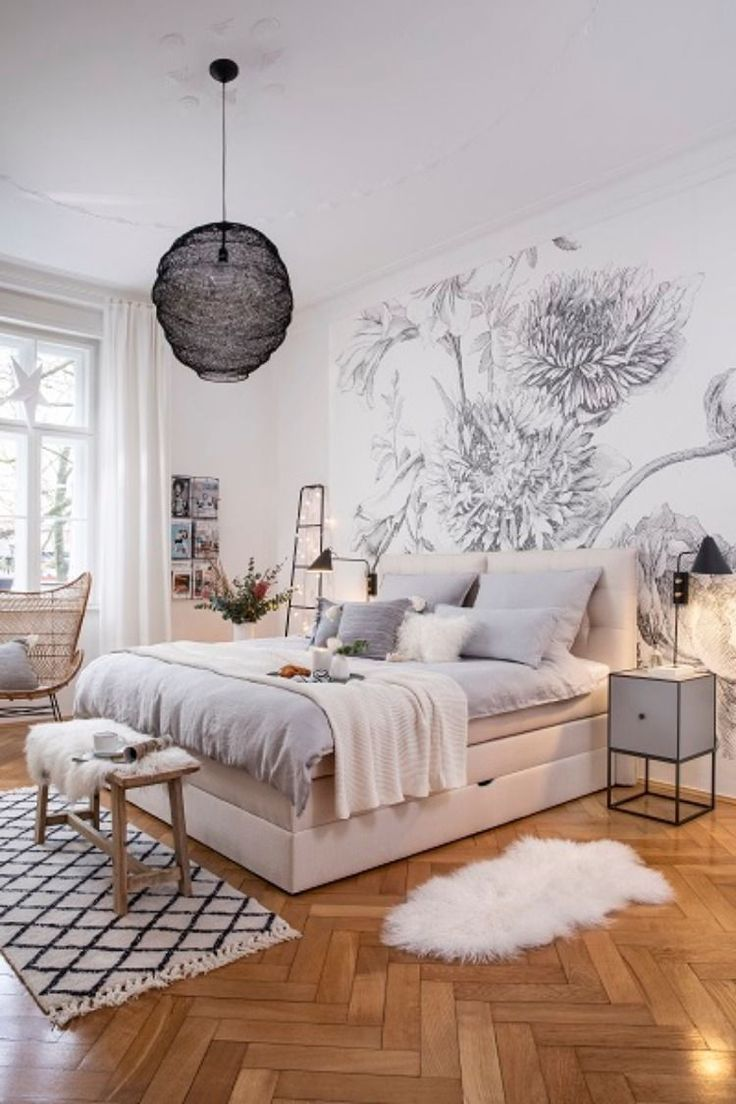 Schöne Schlafzimmer Deko Shop The Look: Scandi Dream #cozybedroom In 2020 ...