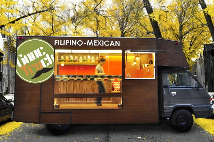 Design focused food truck serving FIlipinoMexican dishes