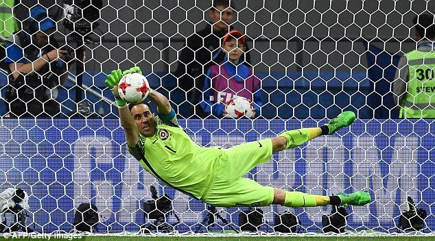Ricardo Quaresma was the first Portugal player to have his spot-kick saved by Bravo