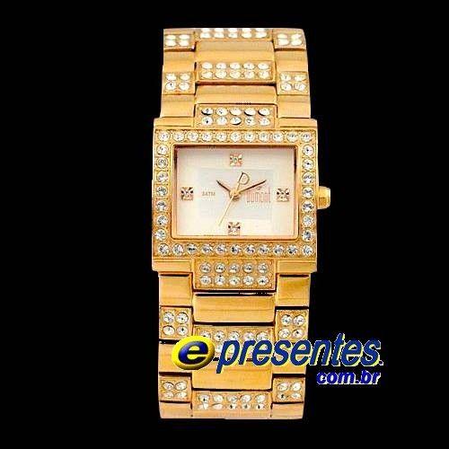 SP89109S Relógio Dumont Bracelete Gold Rose