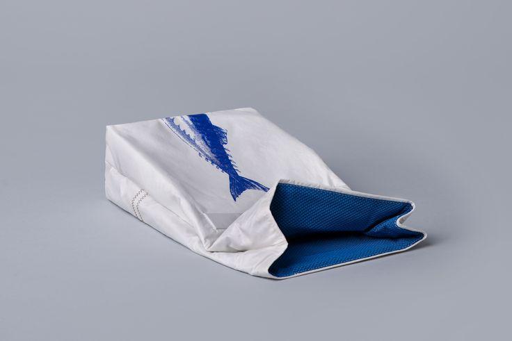 Psarou Lunchbag in Blue I Salty Bag