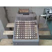 Maquina Calculadora E Registradora Burroughs Antiga N Monark