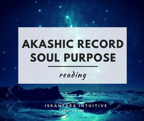 Akashic Record Soul Purpose Reading