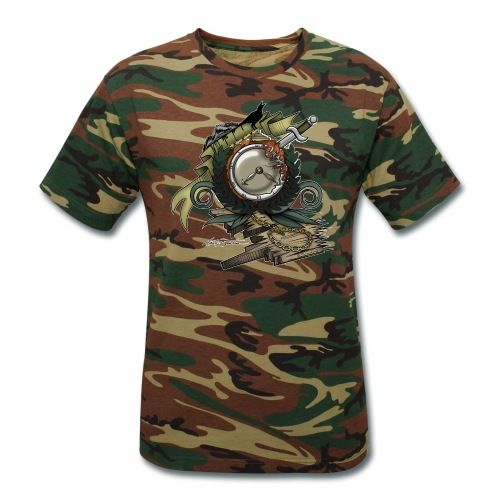 End Of Time - Unisex Camouflage T-Shirt