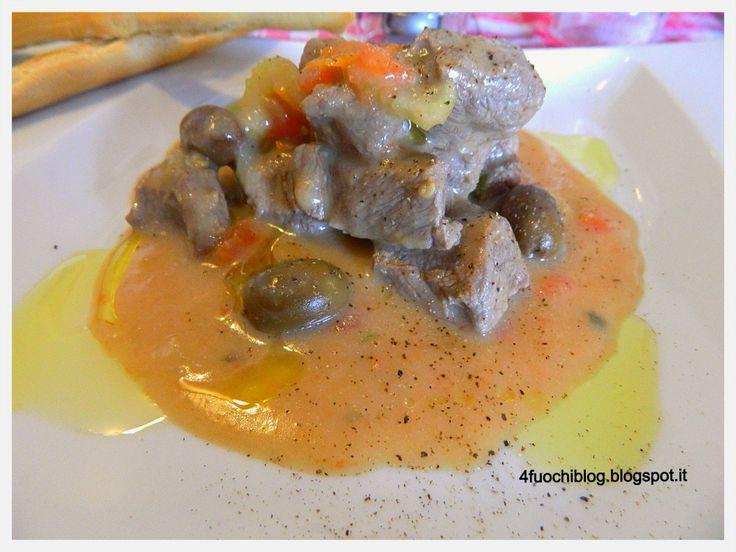 4Fuochiblog.blogspot.it: Sogliola di fassone scottata in padella, con olive...
