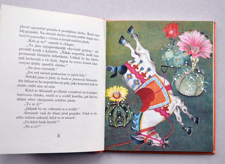 Cardoso - BÍLÝ KONÍČEK  ilustrátor jiří běhounek,