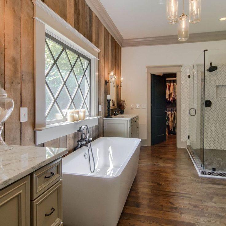 29 easy farmhouse bathroom renovation ideas for your bath