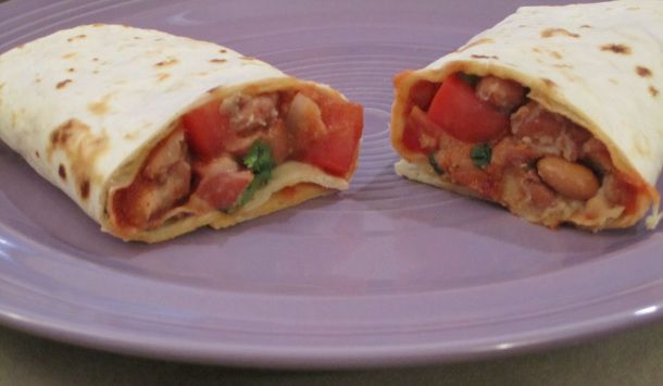 Fresco Bean Burrito; image by The Opinioness