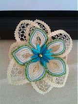 Ozdoby do vlasov - kvet do vasov - 3937053_