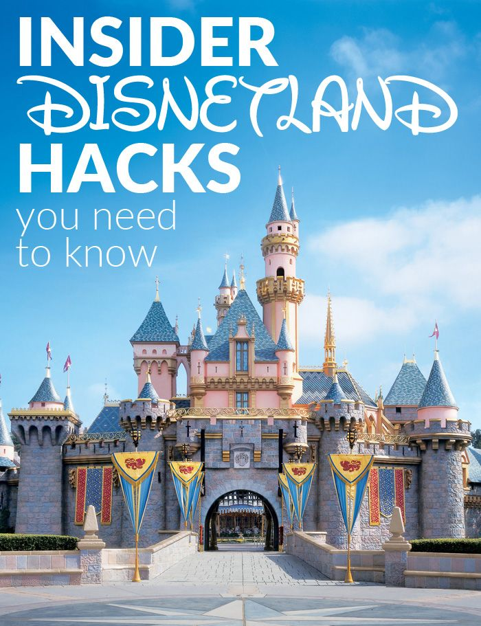 Insider Disneyland Hacks You Need to Know | Travel Tips