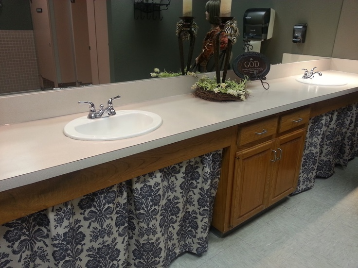 Wren + Olive: Church Bathroom Makeover