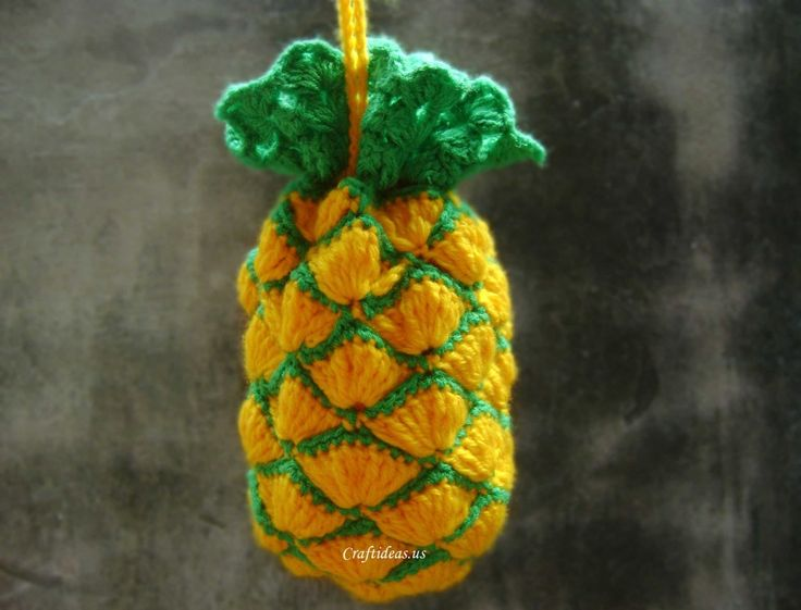 best 20  pineapple crochet ideas on pinterest