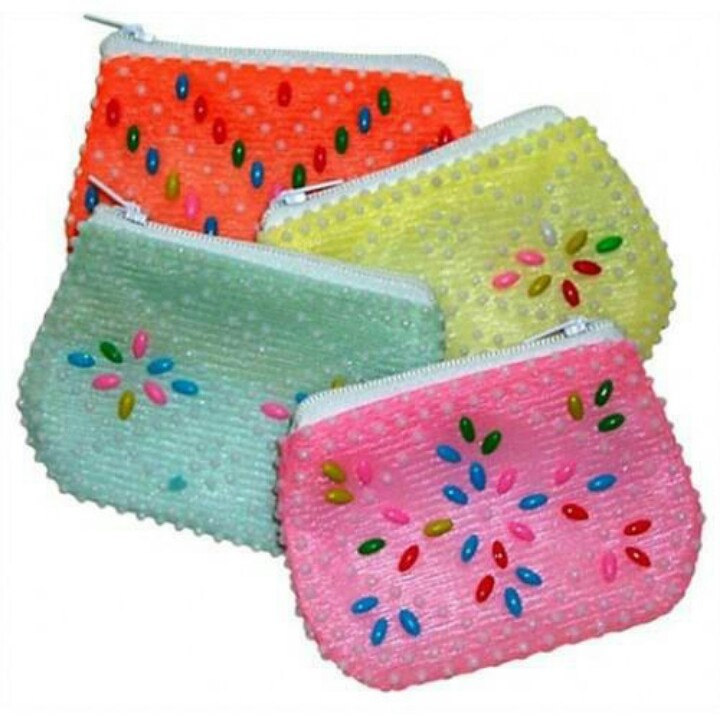 Beaded purses ; essence of the 70's