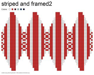 Bluemchen0815 _-_-_ _ julekuler striped_and_framed2_small2