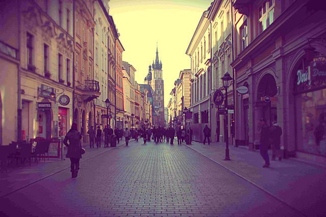 Start your Eastern European travel by visiting #Krakow , Poland and eat all the Polish food your little heart desires - #Pierogi and #Zapiekanka are a must.
