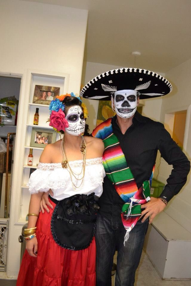 day of the dead couple - photo #31