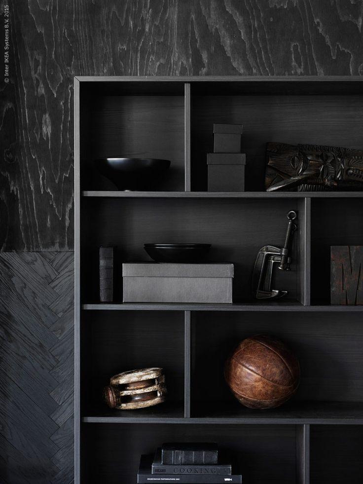 I februari kommer nya serien VALJE till IKEA varuhusen. VALJE hylla, B100xH150 D30cm.