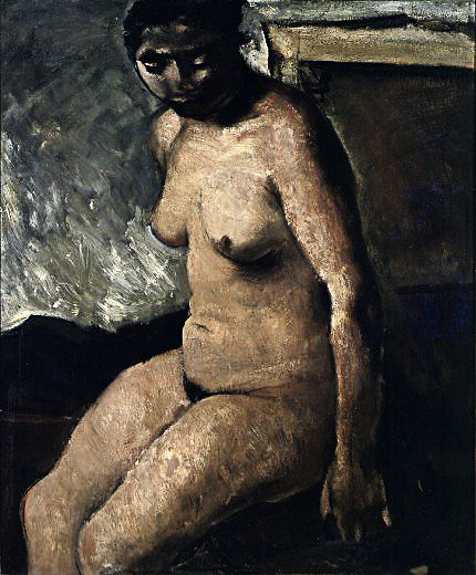 Mario Sironi - Studio di nudo, 1926-28