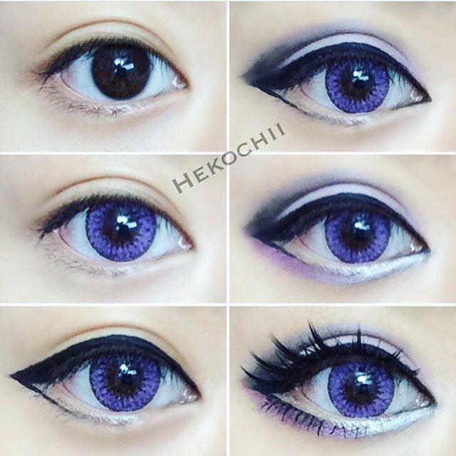 Beautiful cosplay makeup by @hekochii ♥️〰♥