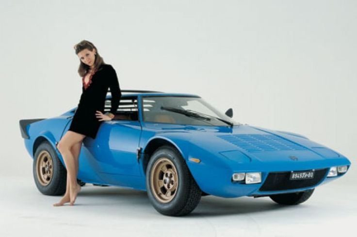 Lancia Stratos, excuse me I'll be driving this now, I mean the car.