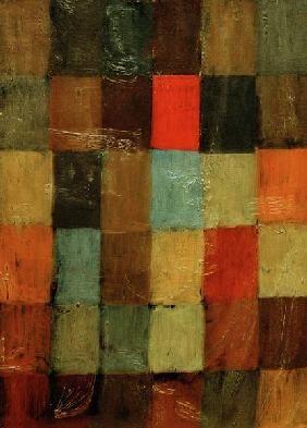 Paul Klee - Harmonie blau=orange, 1923, 58.