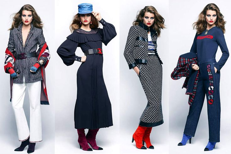 Explore the Ready-To-Wear pieces from the new Chanel Fall-Winter 2017-2018 Pre-Collection #Campaign Starring model Luna Bijl and shot by #KarlLagerfeld http://bit.ly/2w1GJ6U