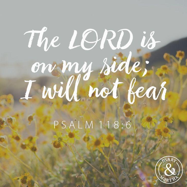 Psalm 118:6