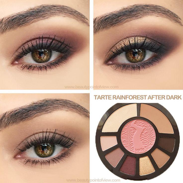 Tarte Rainforest After Dark Palette Tutorial - 3 easy looks Everyday, Classic and Glam | thebeautyspotqld.com.au