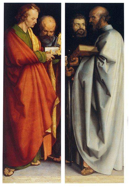 Альбрехт Дюрер «Четыре апостола» (1526)