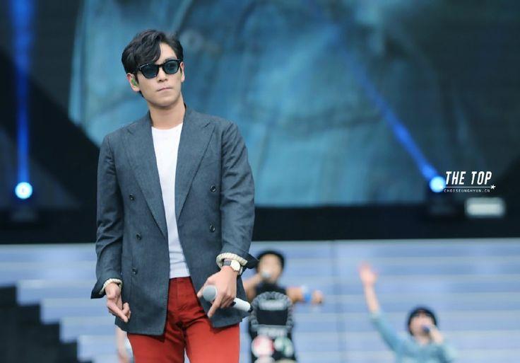 AIA Soundcheck Party 140814 ©THE TOP #YGFAMILY #BIGBANG #TOP #ChoiSeunghyun