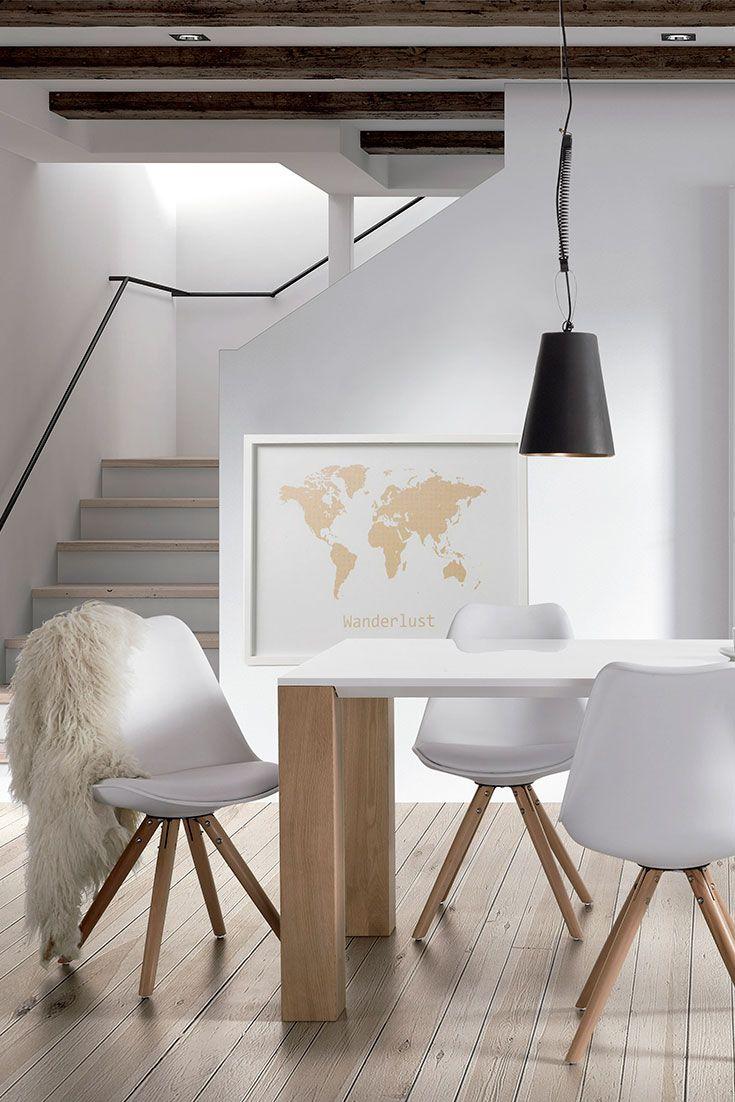 Le style #goldandwhite: la nouvelle tendance pour votre #salleàmanger! Qu'en pensez-vous?