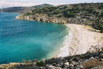 "Beach ""Potovosce""  Vrbnik island Krk Croatia"
