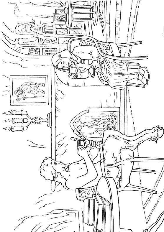 Narnia prince caspian coloring pages