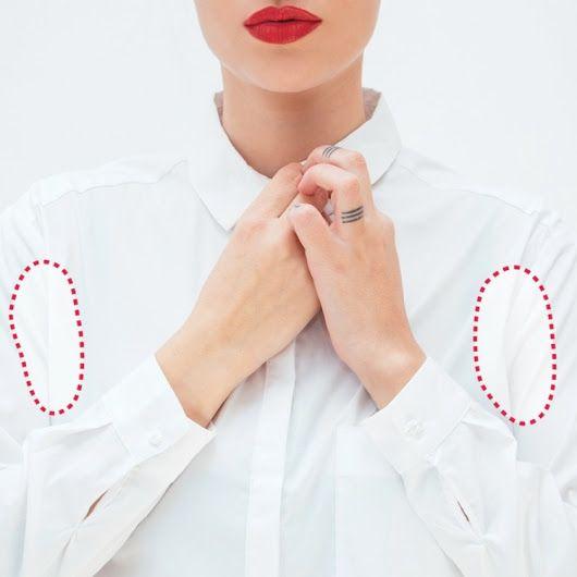 *Как устранить пятна от пота раз и навсегда* Летом так хочется надеть белую одежду, но белая рубашка или блуза под мышкам и быстро делается желтой и в... - Furnish Home - Google+