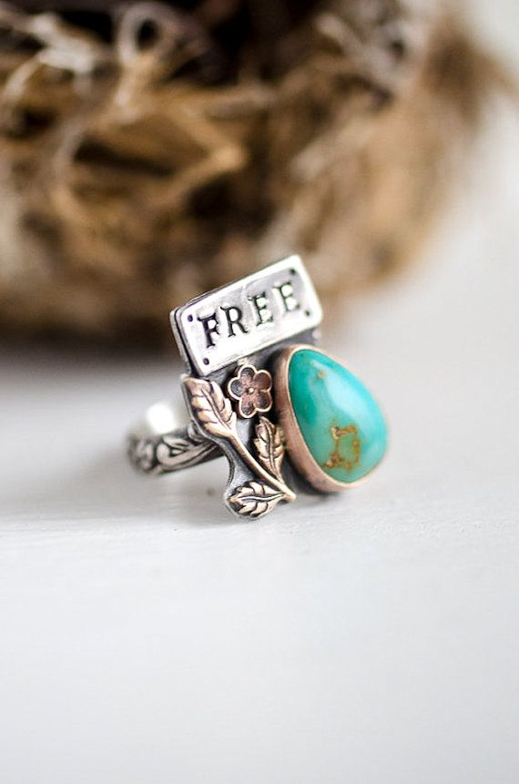 Adorable ring: http://www.etsy.com/listing/122774201/christmas-in-july-sale-sterling-songbird