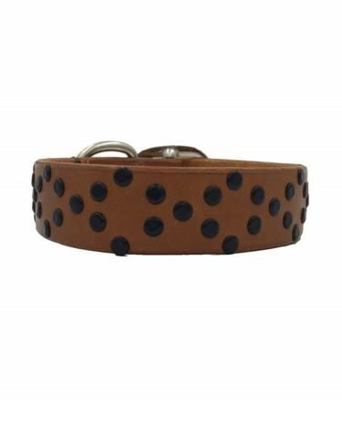 Chase leather collar