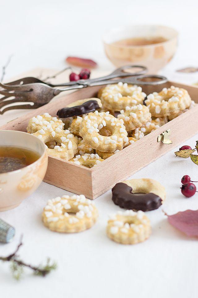 Vanilla Thimble Cookies // Vanille-Fingerhut-Kringel